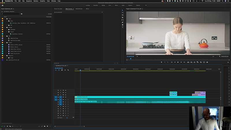 Premiere-Pro-workspace-TV-Commercial-Masterclass